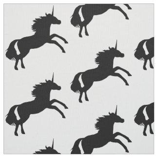 Unicorn-Silhouette-Gewebe Stoff