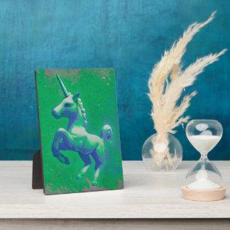 Unicorn-Tischplatte-Plaketten-12x18 (glühend Platten