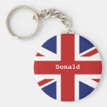Union Jack Porte-clés
