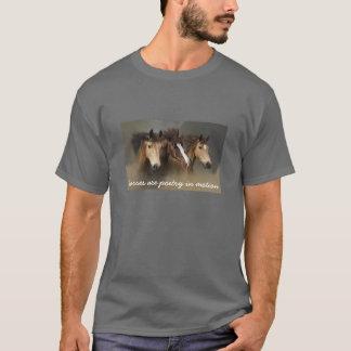 UnisexShirt der wilde Pferddrei T-Shirt