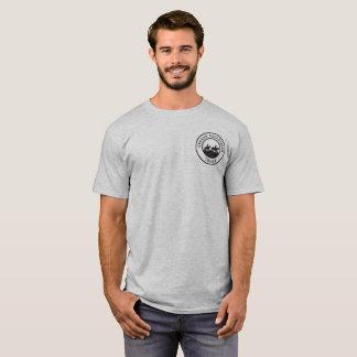 UnisexT - Shirt mit kleinem schwarzem Logo