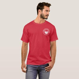 UnisexT - Shirt mit kleinem weißem Logo