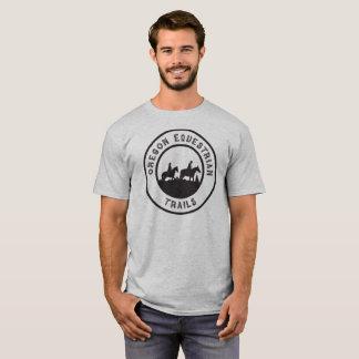 UnisexT - Shirt mit schwarzem Logo