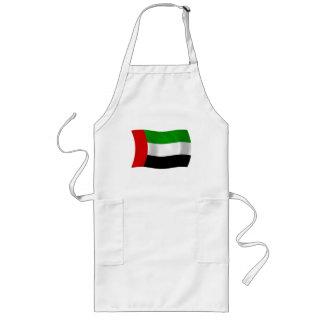 United- Arab Emiratesflaggen-Schürze Lange Schürze