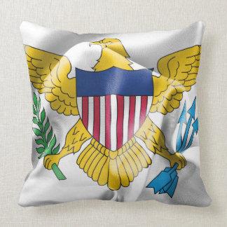 United- States Virgin Islandsflaggen-Wurfs-Kissen Kissen
