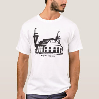 Universität von Illinois, Marine-Pier, Chicago, IL T-Shirt
