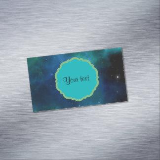 Universum Visitenkartenmagnet