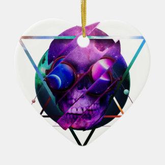 Universumschädelgalaxie Keramik Ornament