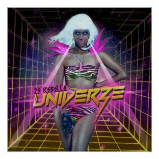 """""""Univerze"""" Albumabdeckungs-Kunstplakat Poster"""