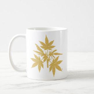 Unkraut-Baum Bubs Gold-Zeichnende Tassen