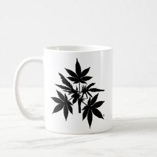 Unkraut-Baum Bubs Schwarz-Zeichnende Tassen