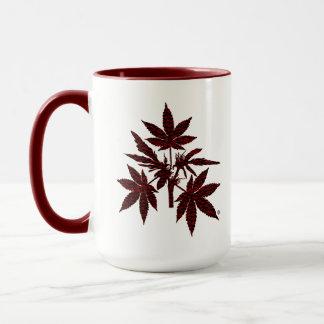 Unkraut-Baum-Rot-Zeichnende Tassen
