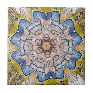UNO ommon Buntglas Photomanipulation Keramikfliese
