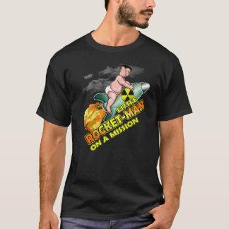 UNO-Trumpf-T - Shirt kleiner Rocket-Mann-lustiger