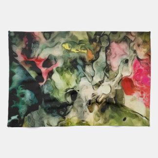 Unordentliche Paletten-cooles abstraktes Muster Handtuch