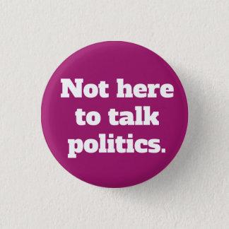 Unpolitical Himbeere der Knopf-Art-4 Runder Button 2,5 Cm