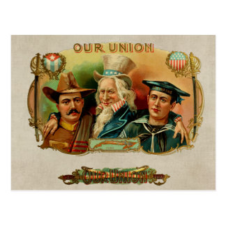 Unser Gewerkschafts-Vintager Postkarte