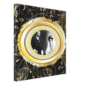 Unser Hochzeits-kundenspezifischer Leinwand-Druck Gespannter Galeriedruck
