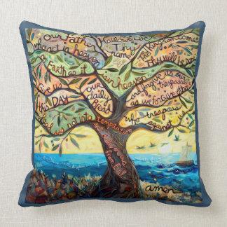 Unser Olivenbaum-Kissen des Vater-(Prayer Lords) Kissen