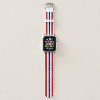 Unser rotes weißes und blaues Apple passen Apple Watch Armband