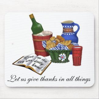 Unser tägliches Brot, Matthew-6:11 Mauspad