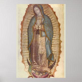 Unsere Dame von Guadalupe 30 x 45 Poster