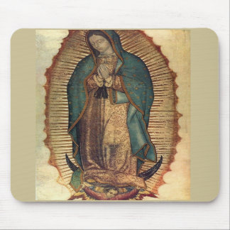 Unsere Dame von Guadalupe Mousepad