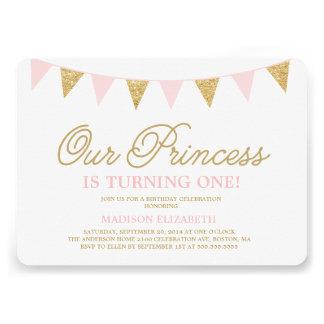 Unsere Geburtstags-Einladung Prinzessin-