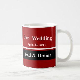 Unsere Hochzeits-Becher Tasse