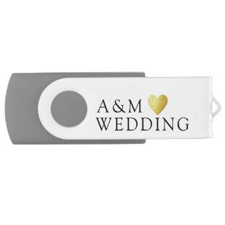 unsere Hochzeits-Fotos gerettet auf a USB Stick