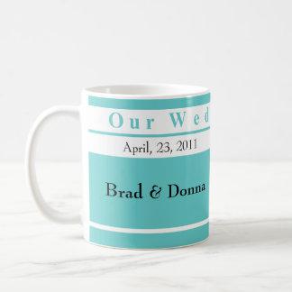 Unsere Hochzeits-TagesTassen Tasse