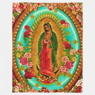Unsere mexikanische Heilig-Jungfrau Mary Fleecedecke