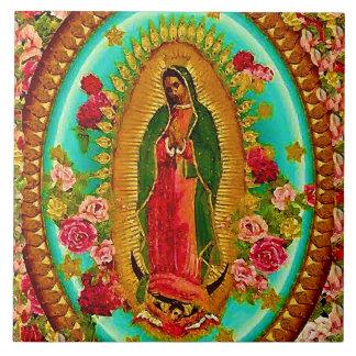 Unsere mexikanische Heilig-Jungfrau Mary Fliese