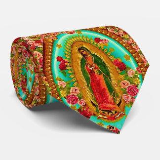 Unsere mexikanische Heilig-Jungfrau Mary Personalisierte Krawatten