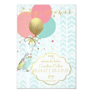 Unsere Wunder-Babyparty-Einladung 8,9 X 12,7 Cm Einladungskarte
