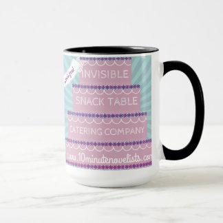 Unsichtbare Imbiss-Tabellen-Tasse Tasse