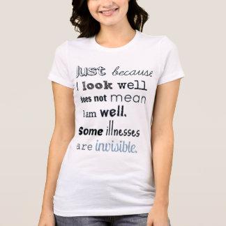 Unsichtbare Krankheit T-Shirt