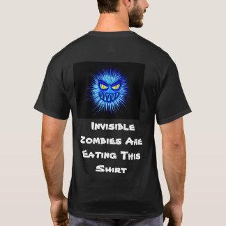 Unsichtbare Zombies essen dieses Shirt