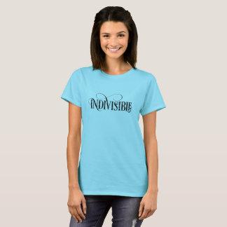 Unteilbarer T - Shirt/schwarzes Skript T-Shirt