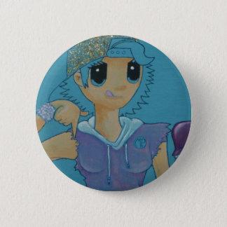 Unten gehen runder button 5,7 cm