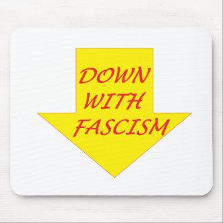 Unten mit Faschismus Mousepad