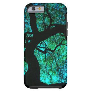 Unter dem Baum im Türkis Tough iPhone 6 Hülle