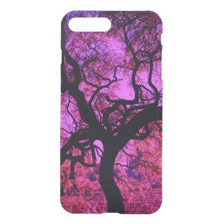 Unter dem Baum in rosa und in Lila iPhone 8 Plus/7 Plus Hülle