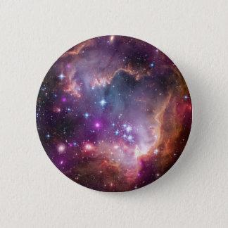 """Unter dem """"Flügel"""" der kleinen Magellanic Wolke Runder Button 5,7 Cm"""