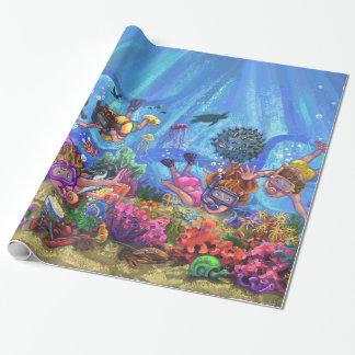 Unter dem Meer Geschenkpapier