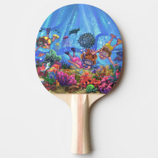 Unter dem Meer Tischtennis Schläger
