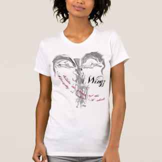 """""""Unter dem Wingz vom allmächtigen """" T-Shirt"""