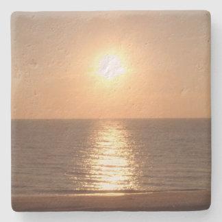 Untergehende Sonne Steinuntersetzer