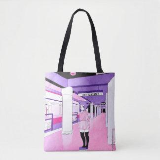 Untergrundbahn-Taschen-Tasche Tasche