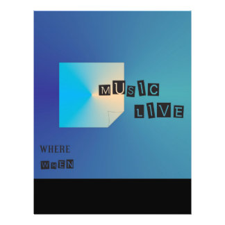 Unterhaltung > Musik-Flyer 21,6 X 27,9 Cm Flyer